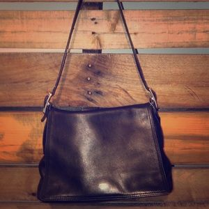 Authentic Coach leather Hobo purse
